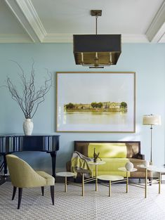 Colors! Interior by Mendelson. Color Theory | 1stdibs Introspective