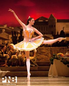 PNB Soloist Laura Gilbreath in Alexei Ratmansky's Don Quixote.