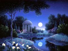 Luna romántica