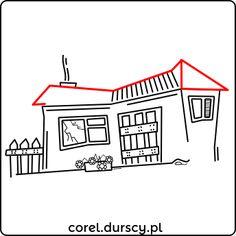Domek w ruinie #corel_durscy_pl #durskirysuje #corel #coreldraw #vector #vectorart #illustration #draw #art #digitalart #graphics #flatdesign #flatdesign #icon #dom #domek #bajka #apartament #home #house #residence #apartments #story #ruin Coreldraw, Flat Design, Vector Art, Apartments, Digital Art, Graphics, Illustration, House, Decor