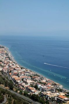 Letojanni coastline, Sicily