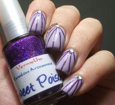 The Clockwise Nail Polish:  #nail #nails #nailsart