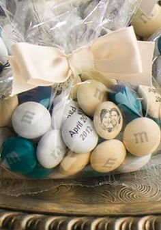 Cool Wedding Favor Ideas Personalised MMs