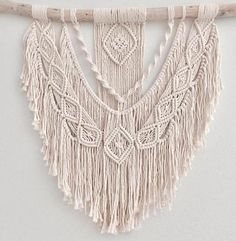 Macrame Wall Hanging Large Detailed Handmade