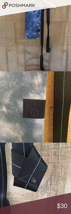 Lululemon Athletica Bundle Lululemon Athletica Bundle- Never Used- yoga strap and Yoga Towel- towel measures 26 1/2 inches by 16 inches lululemon athletica Accessories