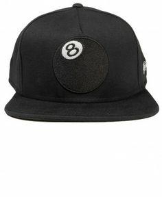 SSUR New York NY SSURVENCHY Black Snapback Baseball Hat NWT