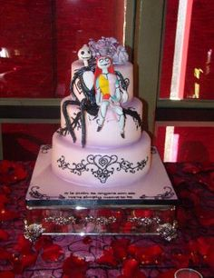night before christmas wedding cake toppers 1000 images about cakes on nightmare before 17889