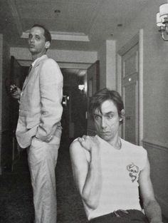 John Waters and Iggy Pop