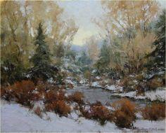 "Michael J. Lynch | ""Winter Willows"""