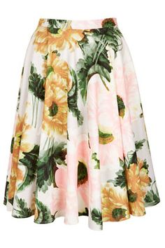 Flower Calf Skirt | #fridayfavourites