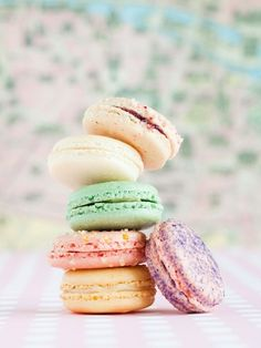 French macaroons, so pretty.