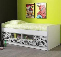 Simple  NEU Kojenbett wei Graffiti Jugendbett Spielbett Kinderbett Kinderzimmer in M bel u Wohnen Kinderm bel u Wohnen M bel