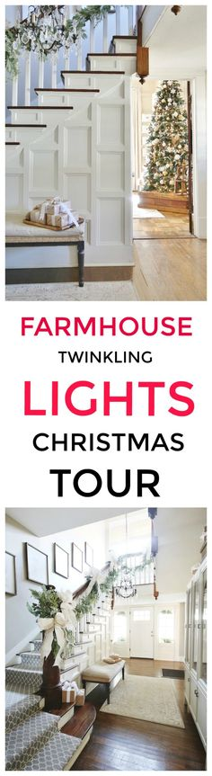 Take a tour of my home with its twinkling lights and sparkling Christmas trees. Tons of Christmas ideas and inspiration. Take a tour of my home with its twinkling lights and sparkling Christmas trees. Tons of Christmas ideas and inspiration. Christmas Inspiration, Home Decor Inspiration, Decor Ideas, Decorating Ideas, Diy Ideas, Room Ideas, Design Inspiration, Christmas Home, Christmas Trees