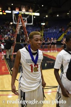 BOYS BASKETBALL Reading High Red Knights vs Berks Catholic Saints in the BCIAA championship at Santander Arena, Reading.  Photo by Jeremy Drey 2/13/2015