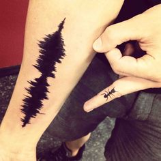 sound waves tattoo - Google Search