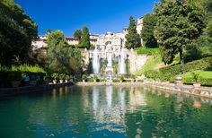 Villa dEste (Tivoli, Rome), one of 47 UNESCO World Heritage Sites in Italy!