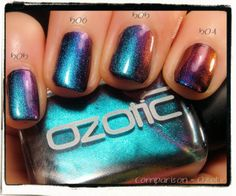 Comparison Ozotic 504-505-506 | Nailderella