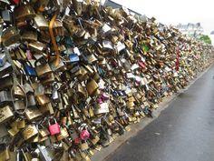 Love lock bridge -Paris