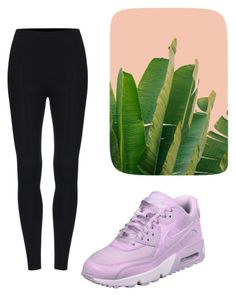 """lets go banana"" by bela-carapinheiro-valimaa on Polyvore featuring moda e NIKE"