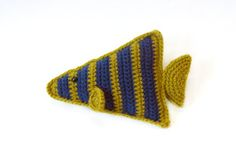 Amigurumi Angel Fish Free Crochet Pattern from Lion Brand