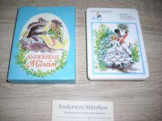 Andersens Märchen Quartettspiel unbenutzt Karten Altenburg DDR ab 1 EURO