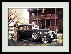 """'34 Lincoln Vicky Show Car, 1983 (Cosmo's """"ART"""" Gallery) Tags: babe lincoln 1983 vicky 1934 customcar showcar"""