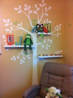Bright colors Baby Room