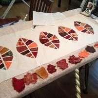 Quilting : Fall Table Runner and Placemats