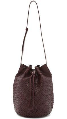 Christopher Kon Woven Bucket Bag