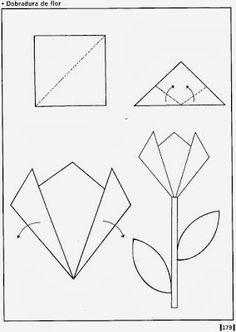 Diy Origami, Mothers Day Crafts For Kids, Diy For Kids, Origami Instructions For Kids, Construction Paper Flowers, Paper Flowers For Kids, Rainbow Paper, Easter Art, Spring Crafts