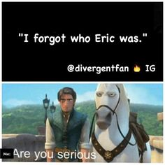 Are you serious? Divergent Hunger Games, Divergent Fandom, Divergent Funny, Divergent Trilogy, Divergent Insurgent Allegiant, Divergent Quotes, Are You Serious, Erudite, Veronica Roth