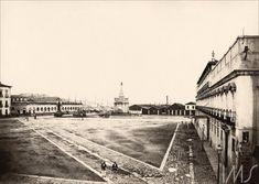 Camillo Vedani. Largo do Paço, 1865. Rio de Janeiro, RJ / Acervo IMS