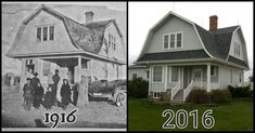In 1916 my great-grandfather built his house from a Sears home kit. 100 years later we've restored it to its original beauty.