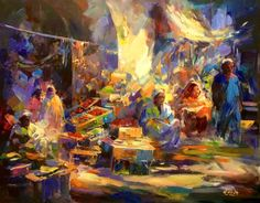 wonderful colors By Egyptian artist Emad Rizk