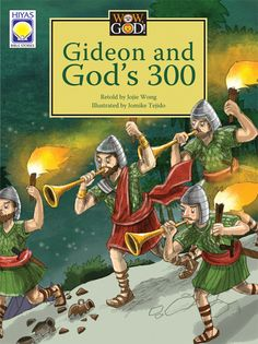 "Israel is in Big Trouble!   Thousands and thousands of enemy soldiers are ready to attack Israel! God commanded Gideon to fight for Israel. But before Gideon and his men go to battle, God tells Gideon to do something surprising. Gideon is afraid and worried. If he obeys God, how will his army win in this battle?   Gideon and God's 300 is part of the ""Wow, God!"" series from Hiyas, the children's book imprint of OMF Literature.  #wowgod #gideons300 #jojiewong"
