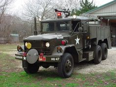 military fire trucks | While not of WW2 vintage this is truly a beautiful truck.