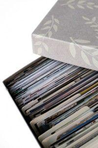 organizing photo prints