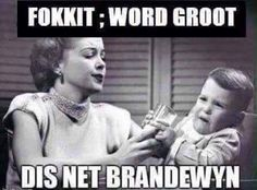 brandewyn You Funny, Really Funny, Funny Jokes, Hilarious, Funny Images, Funny Pictures, Afrikaans Quotes, All In One App, Most Popular Memes