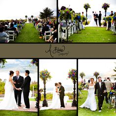 Rick and Jen's wedding at the Cliffs Resort in Pismo Beach, CA by San Luis Obispo wedding photographer Ashley Blake