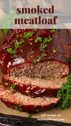 Good Meatloaf Recipe, Meatloaf Recipes, Meat Recipes, Cooking Recipes, Grilled Meatloaf, Low Carb Meatloaf, Homemade Meatloaf, Healthy Meatloaf, Beef Dishes