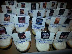 Star Wars Vanilla Cupcakes