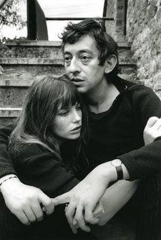 Jane Birkin and Serge Gainsbourg by Frank Habicht