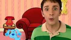 'Blue's Clues' star Steve Burns celebrates the show's 20th anniversary.