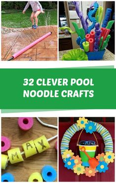 32 Pool Noodle Crafts - C.R.A.F.T. Christmas Crafts To Sell, Holiday Crafts, Mason Jar Crafts, Mason Jar Diy, Pool Noodle Crafts, Diy Pool, Cricut Craft Room, Pool Noodles, Paper Crafts