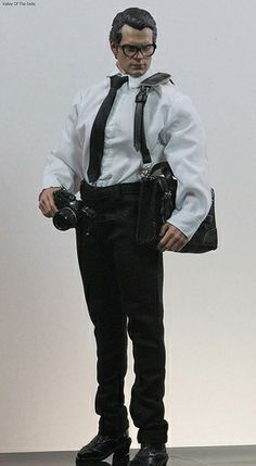 Henry Cavill as Clark Kent, Action Doll by Hot Toys.