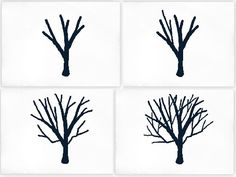 How to Draw a Tree with Branches - Bing Images