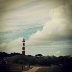 Lighthouse Ameland #Ameland #Dutch #island #hollum #Amelandfoto