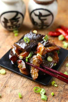 Sauteed Eggplant with Miso Sauce by pickledplum #Eggplant #Miso