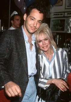 Dodd Darin & his mother Sandra Dee. Wow, he sure is the spitting image of his daddy.