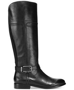 Marc Fisher Aysha Tall Wide Calf Riding Boots - Shoes - Macy's